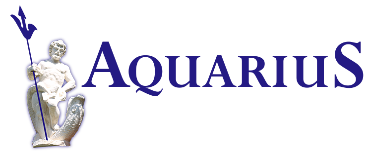 aquarius logo figur
